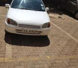 Toyota starlet KAR 490F for sale if interested call george 0780686561
