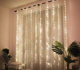 Christmas Decorations for Home 3m 100/200/300 LED Curtain String Light Flash Fairy Garland  Happy Ne