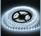 5M Cool White 3528 SMD 300 LED Flexible Waterproof 12V Strip Lights Car Boat Suv