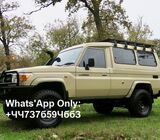 2015 Toyota Land Cruiser 78 Troopy