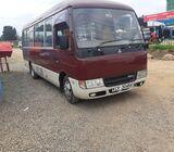 Mitsubishi fuso bus 2012 model