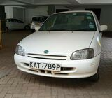 TOYOTA STARLET ON SALE CALL 0721299845