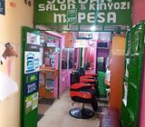 Salon and Barber spa for sale