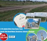 ready to build plots in kitengela 350k