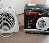 Upright Electric Fan Heater