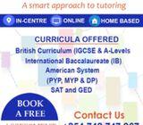 IGCSE/IB/CBC/A-level Tuition Centre