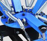 4 Color 4 Station Silk Screen Printing Machine.
