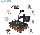 8 in 1 heat Press Sublimation  t-shirt Printing Machine