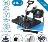 8IN1 Heat Transfer Printing Machine