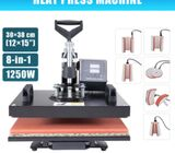 8 in 1 Heat Press Machine Digital Thermal Sublimation for T-Shirts Hat Plate Mug Cup 15