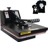 Flatbed 15*15 Inch Heat Press Machine For Digital T-shirt Printing