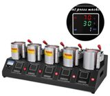 Multicolor 5 In 1 Combo Mug Heat Press Machine Sublimation