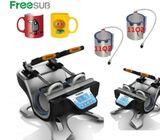 Horizontal double mug heat press Sublimation Thermal Transfer