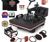 Heat Press for Plate / Mug / Cap / T-shirt / Phone Case, New Advanced Design