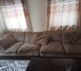 L shaped 6 seater
