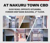 STALLS TO LET. NAKURU TOWN CBD, OPPOSITE GITUAMBA, FORMER KREP BANK BUILDING