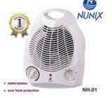 Nunix Portable Fan Heater