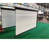 Manual/pull down  projector screen 96*96