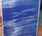 Blue fabric notice board 4*4