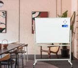 Portable magnetic single sided whiteboard 6*4