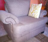 5 seater sifa set with pouf