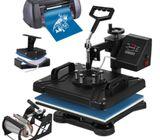 Combo Printing Machine 8 IN 1 Multi Purpose Heat Press,Cutter Plotter