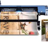1.8M  Eco Solvent Large Format  Banner Vinyl Sticker PVC Film  Printer