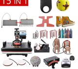 15 In 1 Heat Press Machine Sublimation machine For Mug/hat/T shirt/shoe/pen/Football/Volleyball