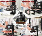 Sublimation Printer Heat Press Machine-8in1