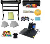 Combined Bundle Of Heat Press , Printer And Plotter.